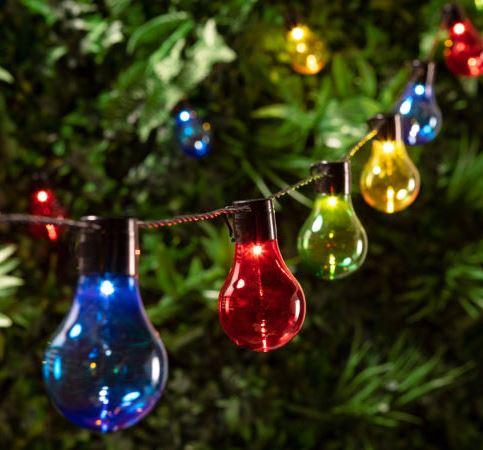 Coloured LED Bulbs 8m