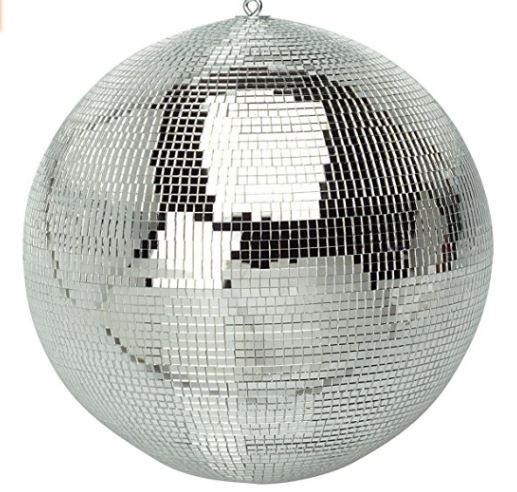 20cm Mirror ball with rotator